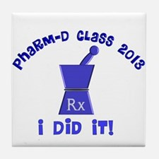pharmD class of 2013 I did it.PNG Tile Coaster