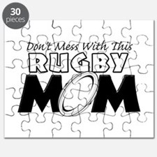 Dont Mess With This Rugby Mom copy.png Puzzle