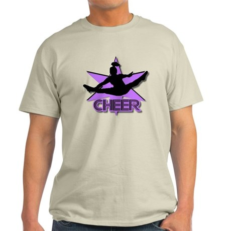 Cheerleader in purple Light T-Shirt