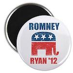 """Romney Ryan 2012 2.25"""" Magnet (10 pack)"""