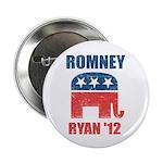 "Romney Ryan 2012 2.25"" Button (10 pack)"