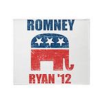 Romney Ryan 2012 Throw Blanket