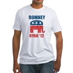 Romney Ryan 2012 Fitted T-Shirt