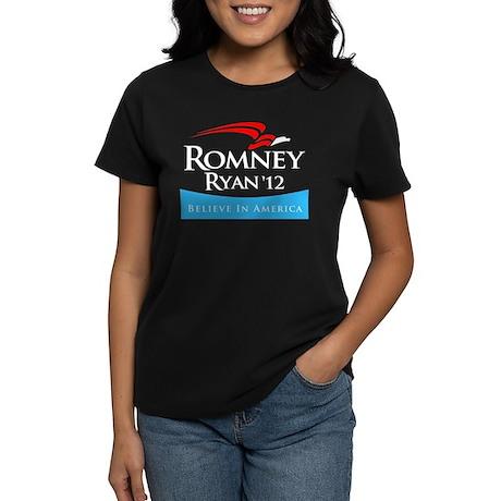 Romney/Ryan 2012 Women's Dark T-Shirt