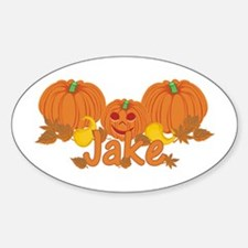 Halloween Pumpkin Jake Decal