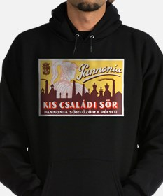 Hungary Beer Label 4 Hoodie (dark)