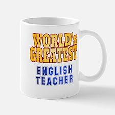 World's Greatest English Teacher Mug
