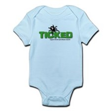 Ticked off about Lyme Disease Infant Bodysuit