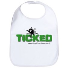 Ticked off about Lyme Disease Bib
