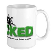 Ticked off about Lyme Disease Mug