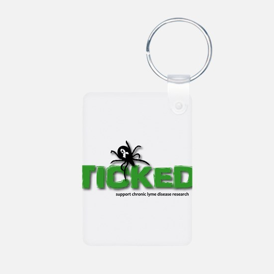 Ticked off about Lyme Disease Keychains