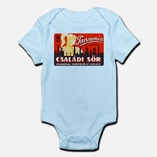 Hungary Beer Label 1 Infant Bodysuit