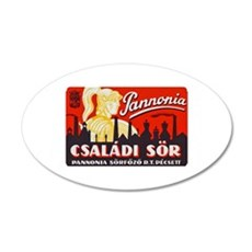 Hungary Beer Label 1 Wall Decal
