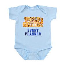 World's Greatest Event Planner Infant Bodysuit