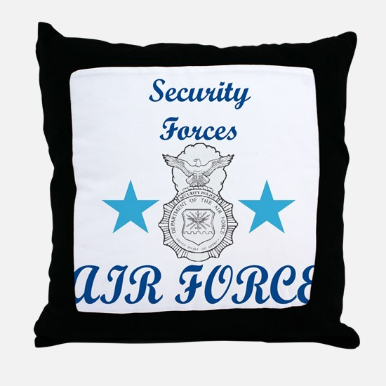 Sec. For. Air Force Throw Pillow