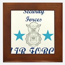 Sec. For. Air Force Framed Tile