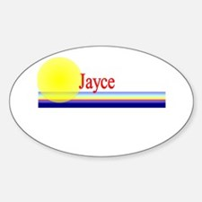 Jayce Oval Decal