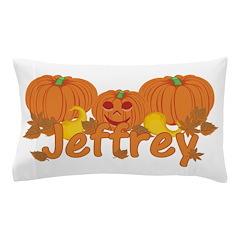Halloween Pumpkin Jeffrey Pillow Case