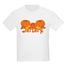 Halloween Pumpkin Jeffrey T-Shirt