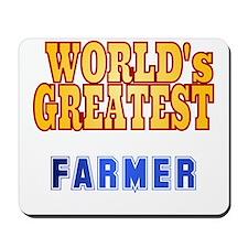 World's Greatest Farmer Mousepad