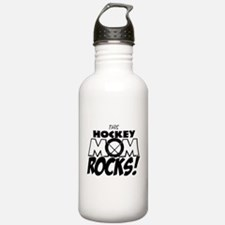 This Hockey Mom Rocks copy.png Water Bottle
