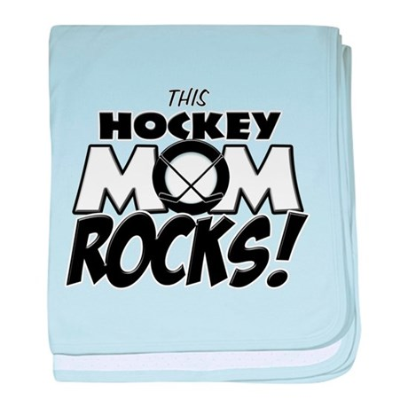 This Hockey Mom Rocks copy.png baby blanket