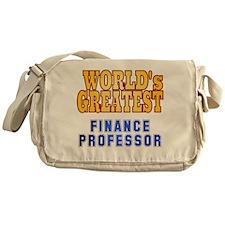 World's Greatest Finance Professor Messenger Bag