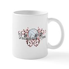 Volleyball Mom (tribal) Mug