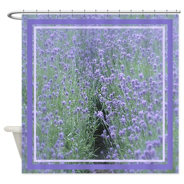 Fields Of Lilac Shower Curtain By MuggleFunds