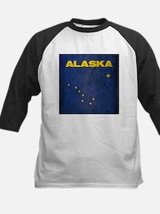 Grunge Alaska Flag Tee