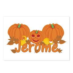 Halloween Pumpkin Jerome Postcards (Package of 8)