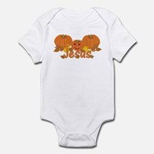 Halloween Pumpkin Jesus Infant Bodysuit