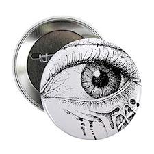 """Zombie Eye 2.25"""" Button"""