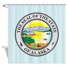 Alaska Seal Shower Curtain