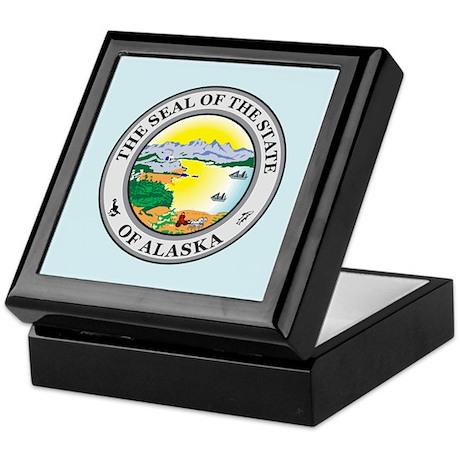 Alaska Seal Keepsake Box