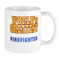 World's Greatest Firefighter Mug
