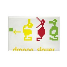 Adventure Dragon Slayer Rectangle Magnet