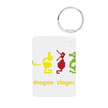 Adventure Dragon Slayer Aluminum Photo Keychain