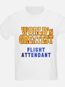 World's Greatest Flight Attendant T-Shirt