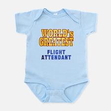 World's Greatest Flight Attendant Infant Bodysuit