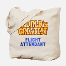 World's Greatest Flight Attendant Tote Bag