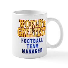World's Greatest Football Team Manager Mug