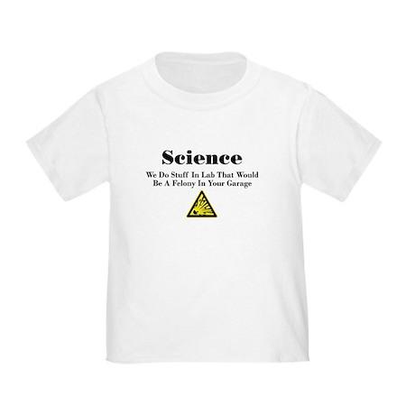 Science Toddler T-Shirt