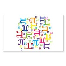 Pieces of Pi Decal