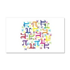 Pieces of Pi Car Magnet 20 x 12
