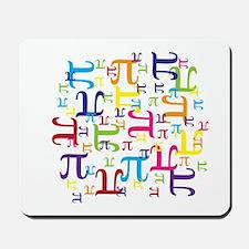 Pieces of Pi Mousepad