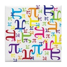 Pieces of Pi Tile Coaster