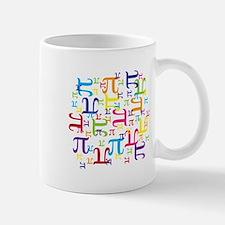 Pieces of Pi Small Mugs