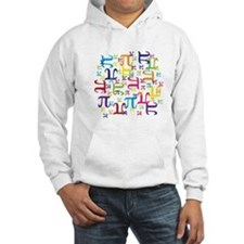 Pieces of Pi Hoodie