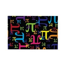 Pieces of Pi Rectangle Magnet (100 pack)